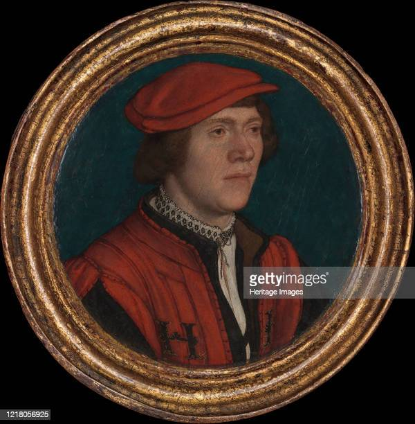 Portrait of a Man in a Red Cap 153235 Artist Hans Holbein the Younger