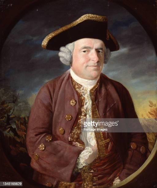 Portrait of a Man in a Tricorn Hat, 1767. Artist John Russell.