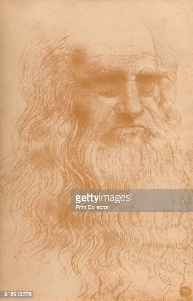 'Portrait of a Man in Red Chalk' c1512 From the collection of the Biblioteca Reale Turin From Master Draughtsmen No 2 Leonardo Da Vinci 14521519 [The...