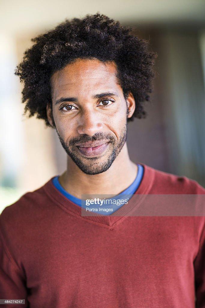 Portrait of a man. : Foto de stock