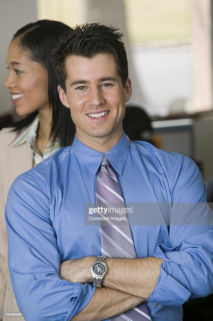 Portrait of a man : Stockfoto
