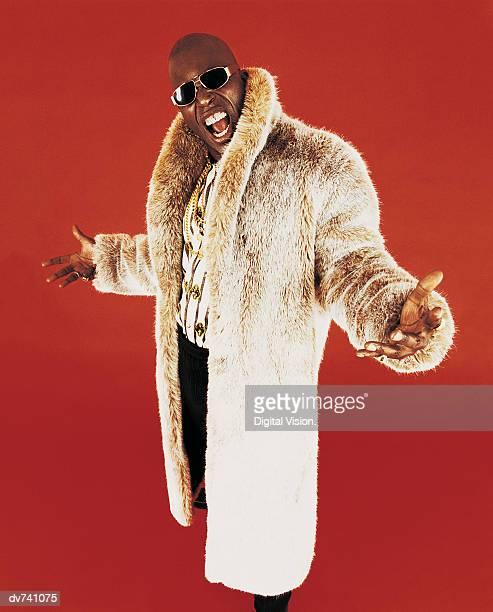 Portrait of a Man Wearing a Fur Coat