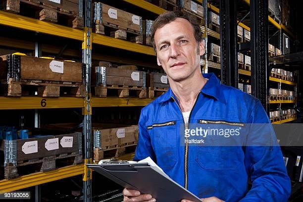 Portrait of a manual worker