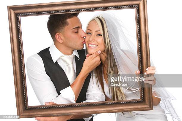 portrait of a married couple - beautiful wife pics stock pictures, royalty-free photos & images