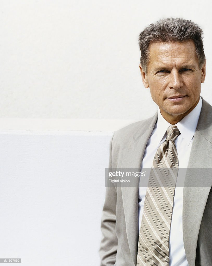 Portrait of a Mature Businessman : Stock Photo
