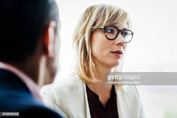 portrait of a mature businesswoman  - looking away stock pictures, royalty-free photos & images