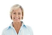 Portrait of a mature Caucasian woman