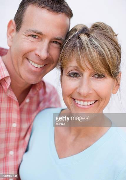 Portrait of a mature couple smiling