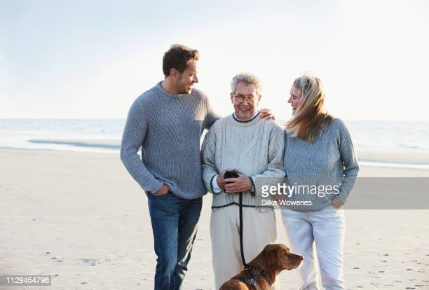 portrait of a mature family