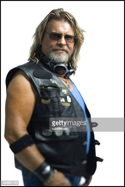 Portrait of a mature man wearing sunglasses