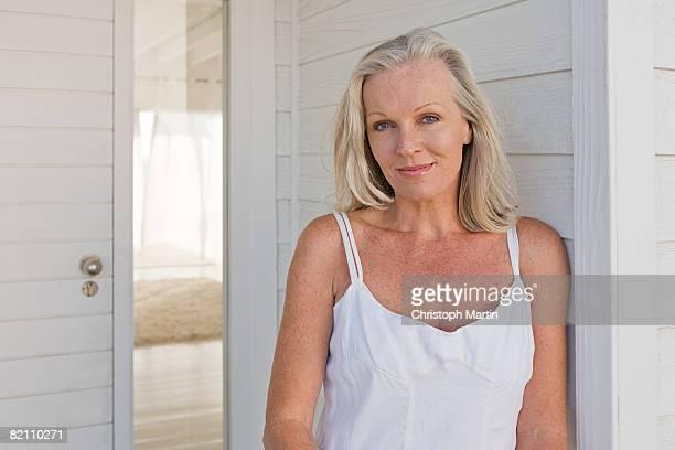 Portrait of a mature woman