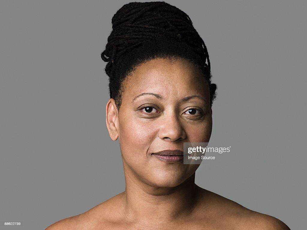 Nude mature black women