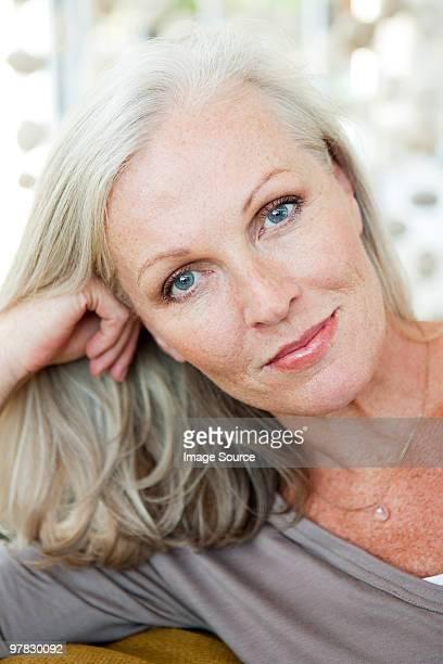 Porträt einer reifen Frau