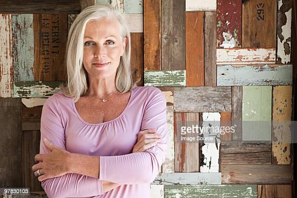 Portrait d'une femme d'âge mûr