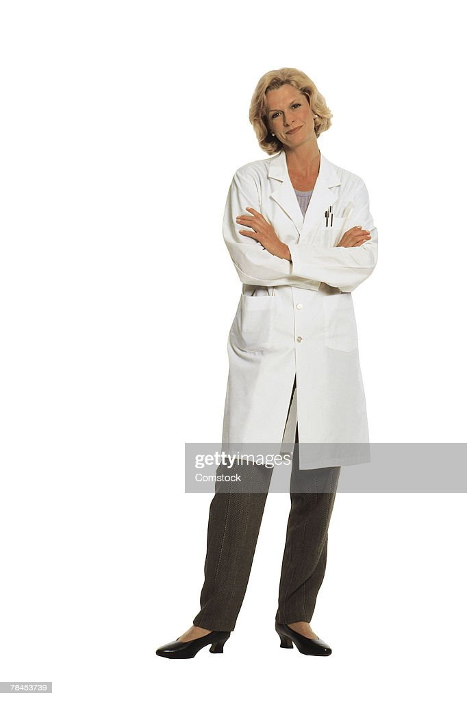Portrait of a medical professional : Stockfoto