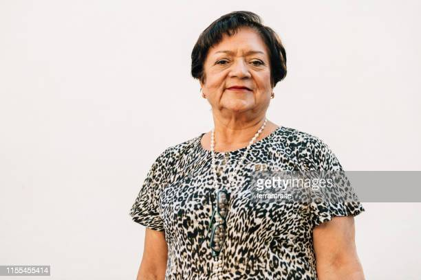 Portrait of a Mexican Senior woman