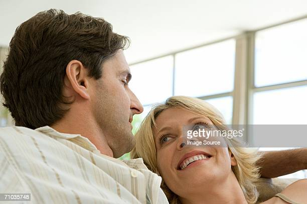 portrait of a mid adult couple - generation gap stock photos and pictures