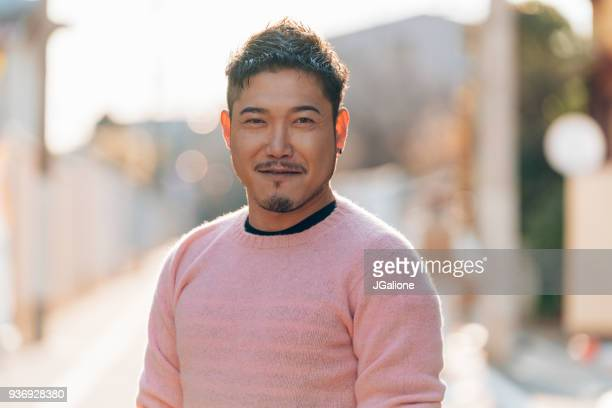 portrait of a mid adult male - east asian culture stock photos and pictures