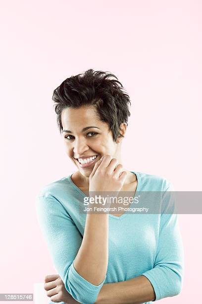 Portrait of a mid adult woman smiling