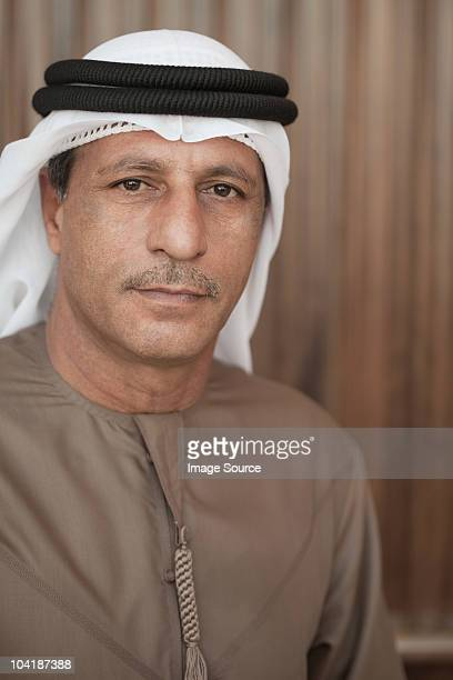 Portrait of a middle eastern man