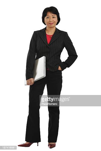 Portrait of a middle-age Asian business woman