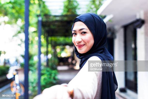 portrait of a modern malaysian girl - malaysia beautiful girl stock photos and pictures