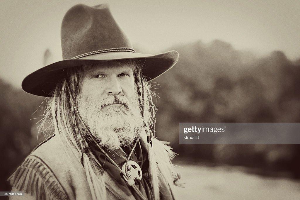 Portrait of A Mountain Man : Stock Photo