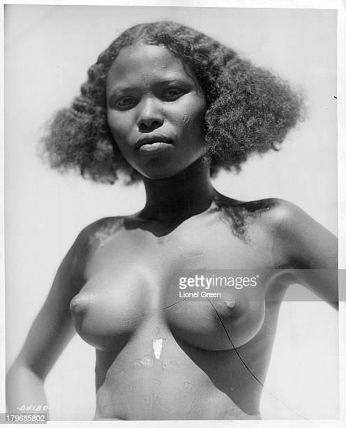 A portrait of a native girl in Djibouti