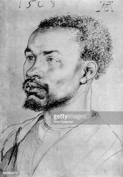 'Portrait of a Negro' Found in the collection of the Graphische Sammlung Albertin Vienna Austria A print from Durer Und Seine Zeit by Wilhelm...
