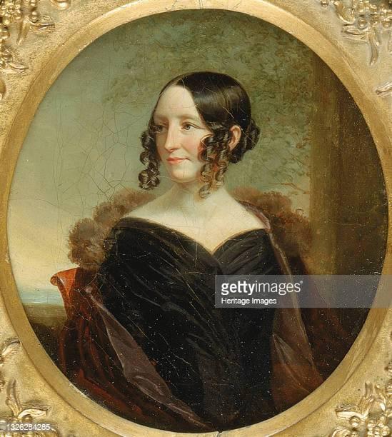 Portrait of a New York Lady, ca. 1840. Artist George Linen.