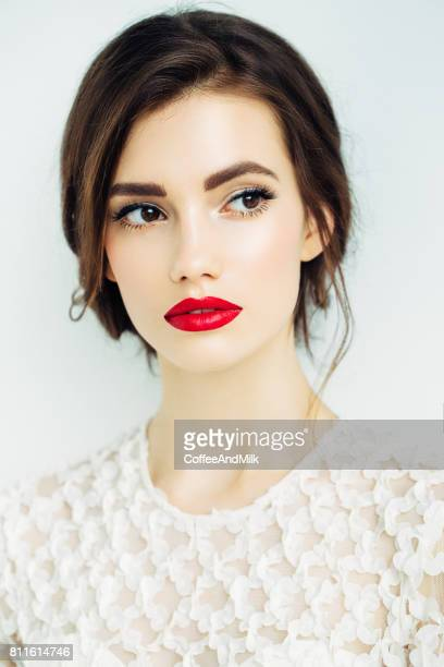 Portrait of a nice looking woman