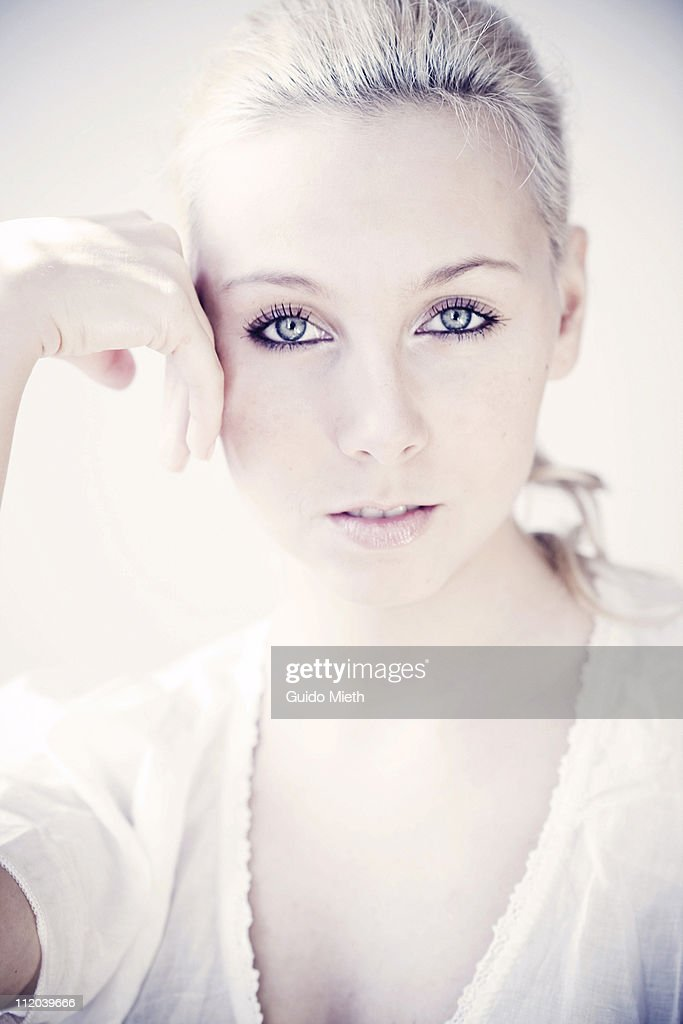 Portrait of a nice young women : Stock Photo