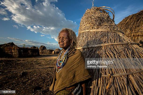 CONTENT] portrait of a old woman of the tribe Erbore at sunset The Arbore tribe is a small tribe that lives in the southwest region of the Omo Valley...