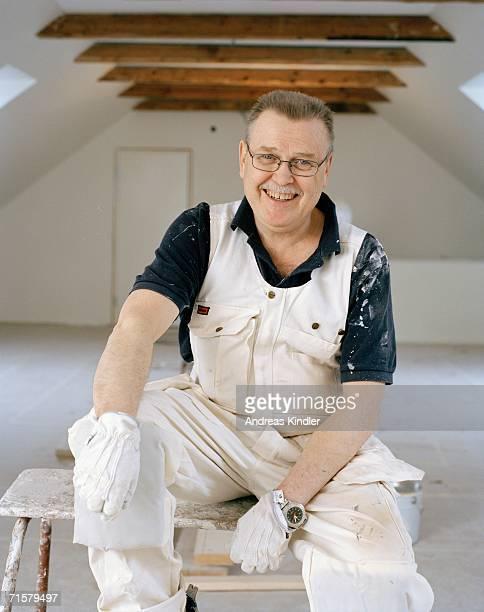 Portrait of a painter.