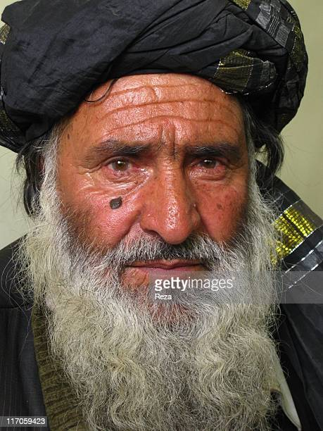 Portrait of a Pashtun Afghan May 7 2009 in Kabul Afghanistan