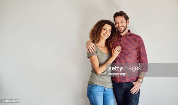 Portret van een perfect paar