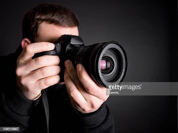 Portrait d'une photographe