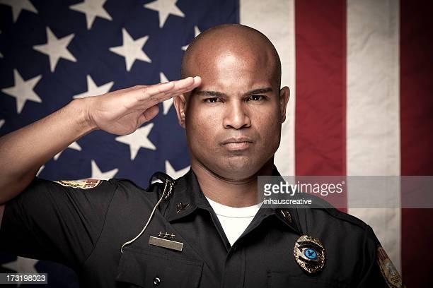 Portrait d'un agent de Police