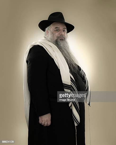 portrait of a rabbi - jewish man stock photos and pictures