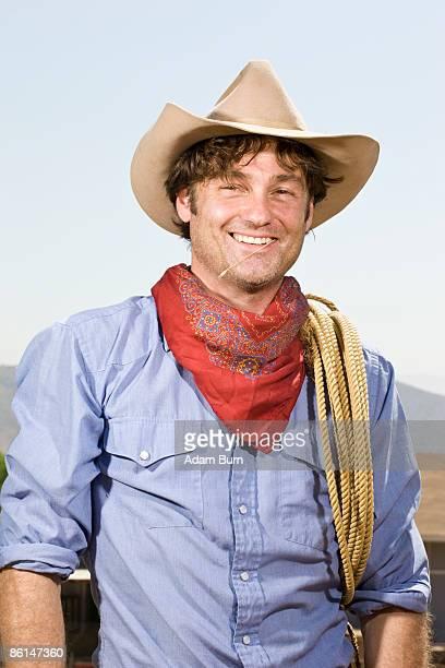 Portrait of a rancher