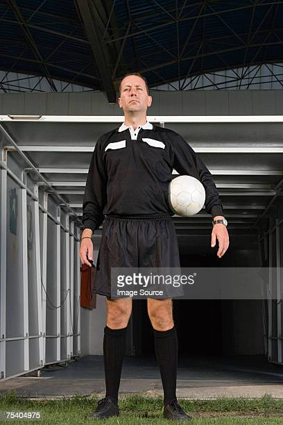 Portrait of a referee