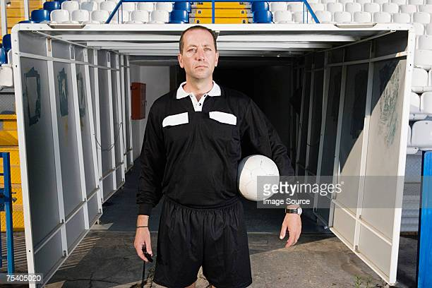 portrait of a referee - referee stock pictures, royalty-free photos & images