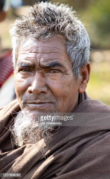 Portrait of a Rice farmer in Assam on February 27 2020 in Guwahati India