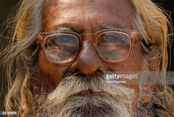 Portrait of a sadhu, Gokarna, Karnataka, India