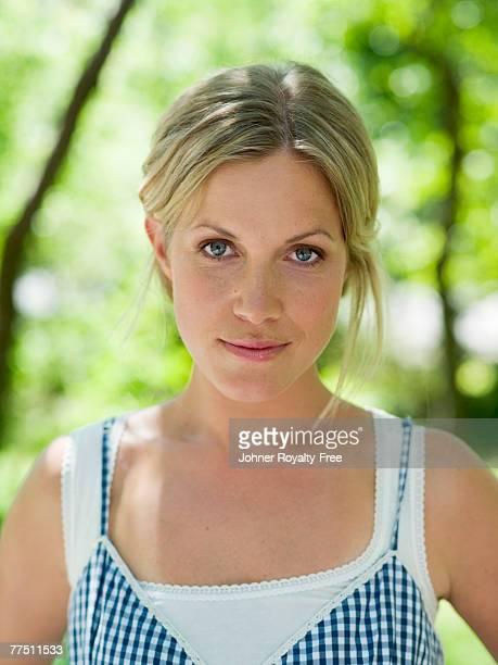 Portrait of a Scandinavian woman Sweden.