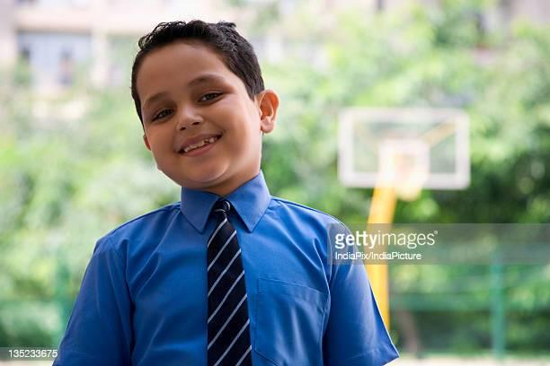 Portrait of a school boy