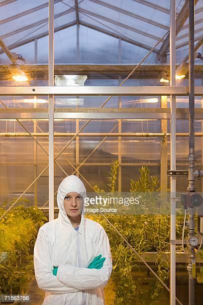 Portrait of a scientist