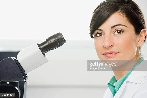 Porträt eines Wissenschaftlers