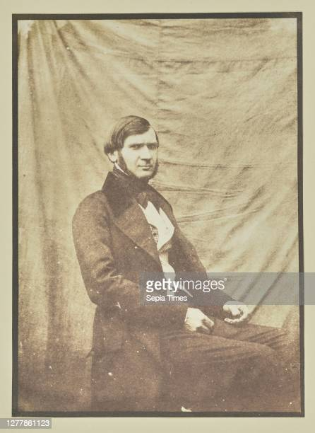 Portrait of a Seated Man; Hippolyte Bayard ; about 1840 - 1849; Salted paper print; 15.9 x 11.5 cm .