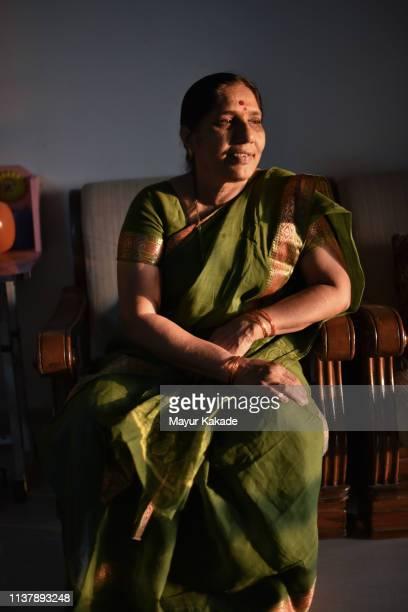 Portrait of a senior Indian woman